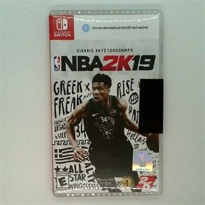 NBA 2K19 nintendo switch new